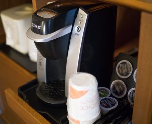 Coffee Station In-Room