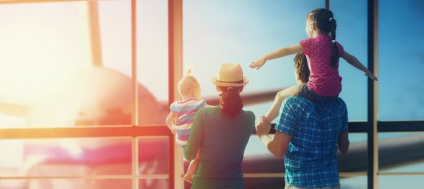 When Travelling Separately as a Family Makes Sense