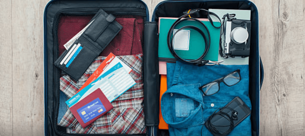 How to pack your suitcase in 30 minutes