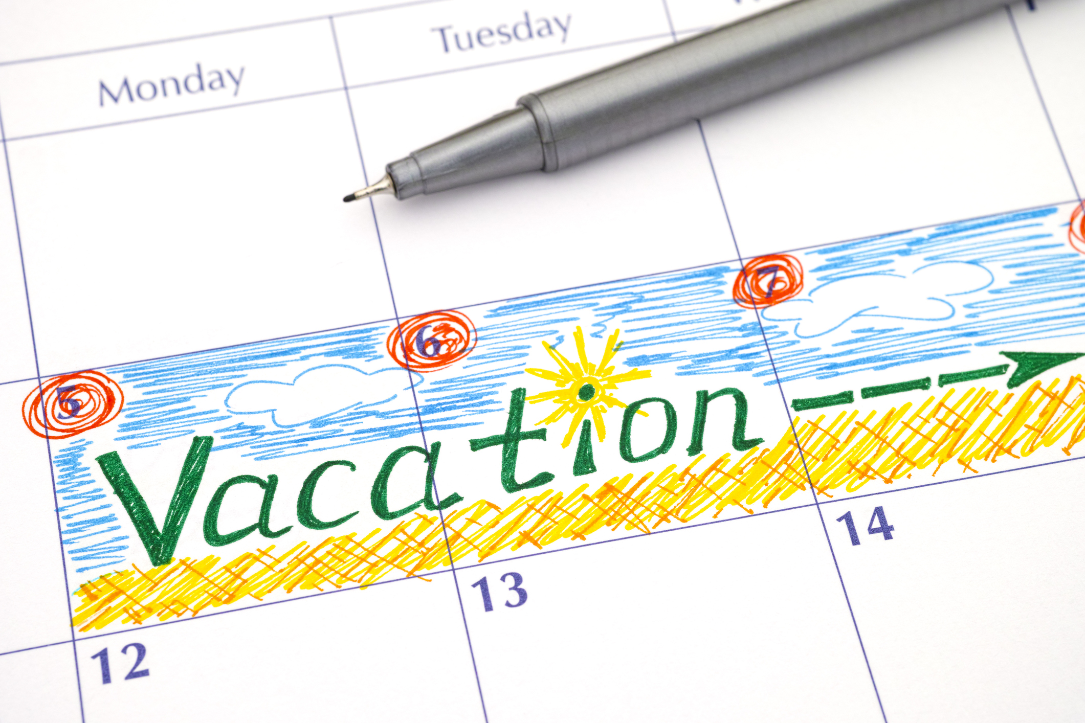 How to make time for a vacation