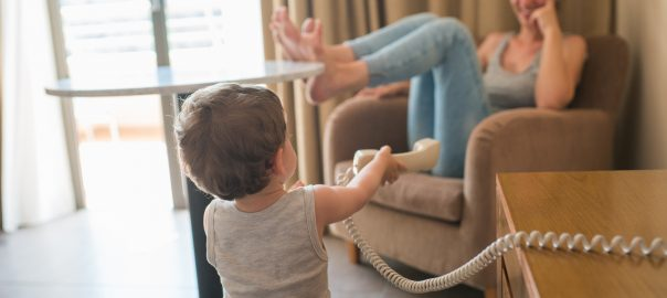 How to Have an Awesome Hotel Stay with a Toddler