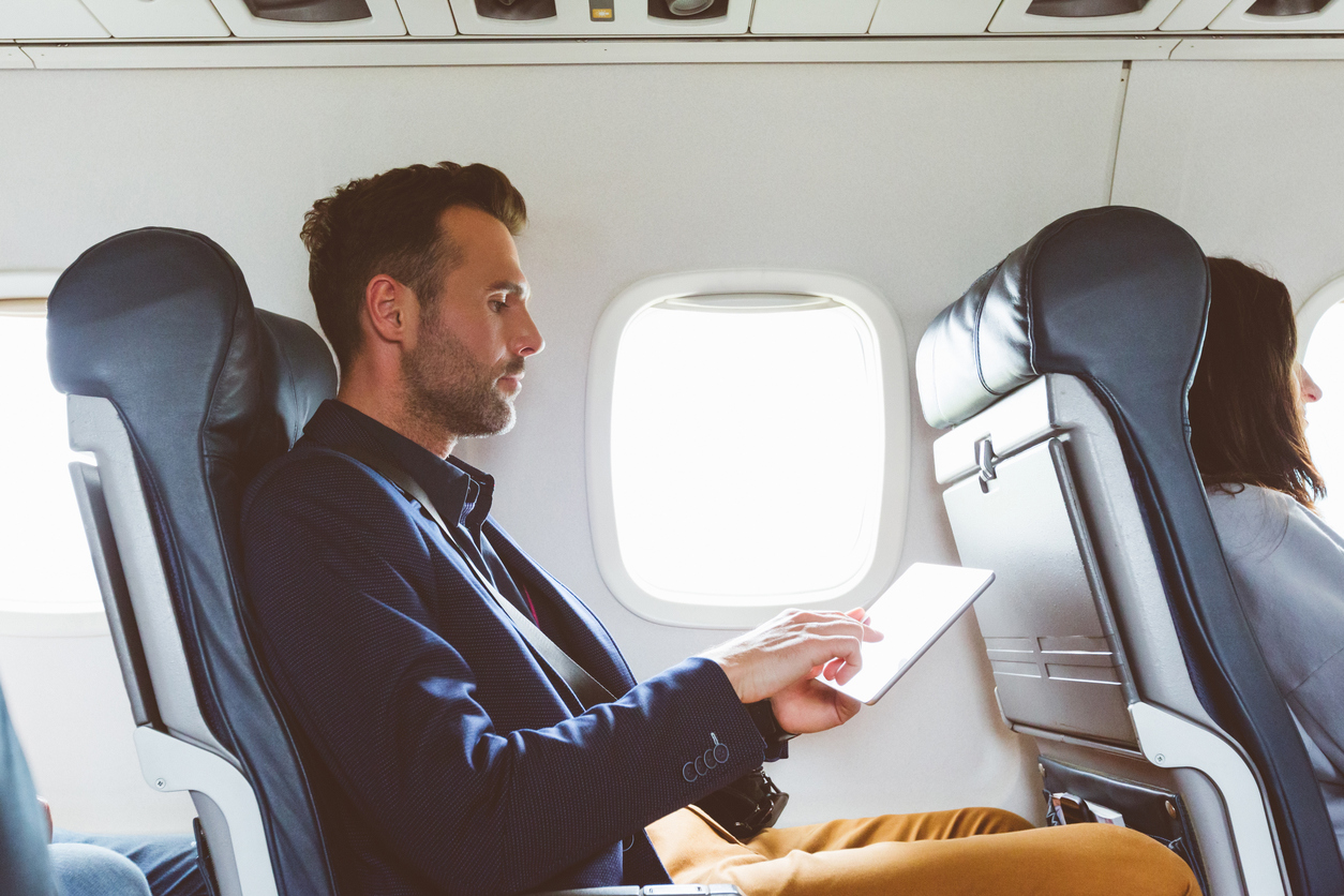 Uncover New Ways to Keep Productivity High on a Plane