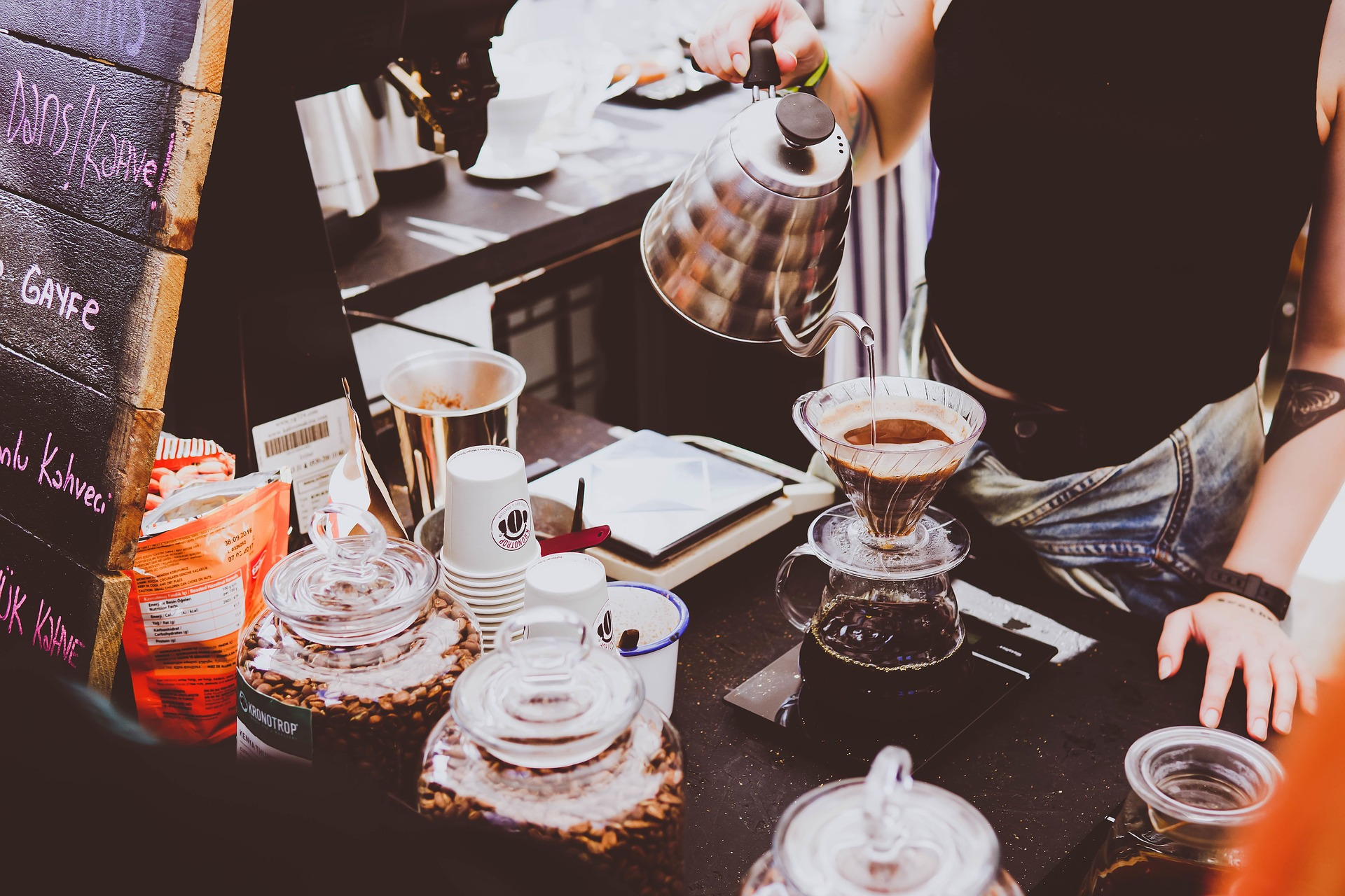places to find good coffee in downtown sudbury area