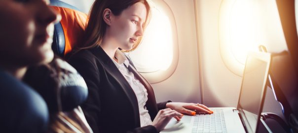 Tips to Be Productive on Your Next Flight