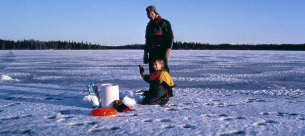 Ice Fishing in Sudbury